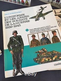 Collection complète 17 volumes de l'uniforme et les armes Liliane & Fred FUNCKEN
