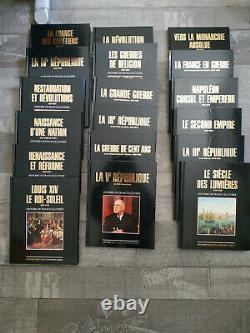 Collection complète 18 Livres HISTOIRE de FRANCE (Larousse / Reader's Digest)