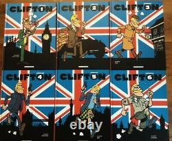 Collection complète CLIFTON INTEGRALES T 1 A 6 / BD De Groot MACHEROT / LOMBARD