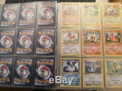 Collection complète carte pokemon set de base full édition 1