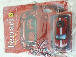 Collection complete de 50 Ferrari 1/43 Fabbri neuves sous blisters non ouverts