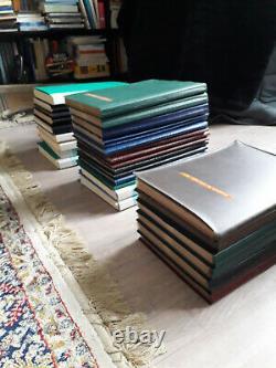 Collection complète de documents philatélique officiel de la Poste année 1974-89