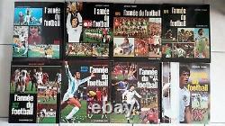 Collection complete de l année du football 1973 à 2017 45 livres en trèsbon etat