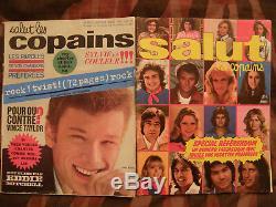 Collection compléte de la revue salut les copains 169 numéros