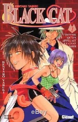 Collection complète de mangas Black Cat 20 Tomes Glénat