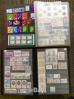 Collection complète de timbres 1983 à 2000 neuf très bon état