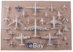 Collection complête des 27 avions Mercury