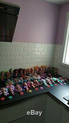 Collection complète des 36 poupées Hairdorables série 1