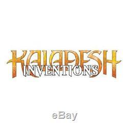 Collection complète des Inventions de Kaladesh (Anglais) Neuf MTG Magic