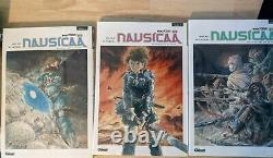 Collection complete des Nausicaa edite en francais tous en EO Hayao Miyazaki