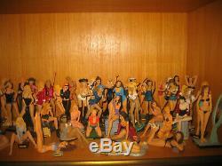 Collection complète des figurines Manara (Altaya)