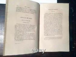 Collection complète des oeuvres de Montesquieu en 8 volumes (publiée en 1826)
