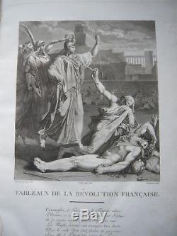 Collection complète des tableaux de la Révolution Française-EO1798-80 gravures