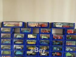 Collection complète des voitures de Tintin Édition Atlas