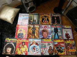 Collection compléte du magazine salut les copains / 169 numéros de 1962 a 1976