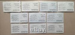 Collection complète pièces PIEFORT Argent 1980 Monnaie De Paris