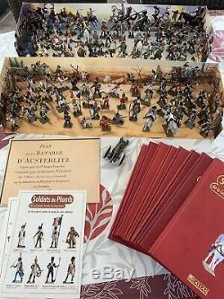 Collection complete soldat De Plomb Starlux 100 Soldats et 8 Livres
