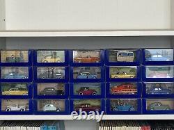 Collection des 70 voitures Tintin atlas collection complète