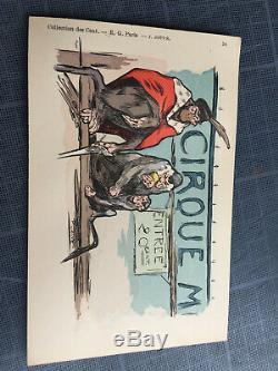 Collection des Cent, pochette série 4 complète, 10 CPA, EG Paris, 1901