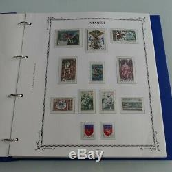 Collection historique timbres de France neufs 1965-1977 complet, SUP