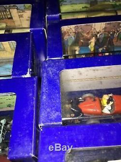 Collection non complète des voitures de Tintin (Atlas) état occasion avec boite