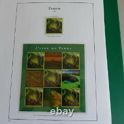 Collection timbres de France 2002-2004 complet dans un album Yvert, SUP