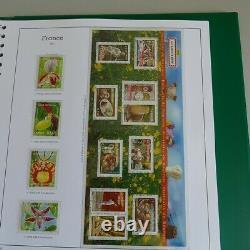 Collection timbres de France 2005-2006 complet dans un album Yvert, SUP