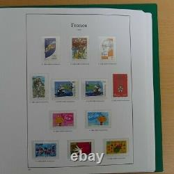 Collection timbres de France neufs 2002-2004 complet en album, SUP