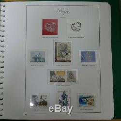 Collection timbres de France neufs 2007-2008 complet en album, SUP