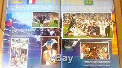 Complet Album Rare Panini Football Champions 98 L'album De La Victoire