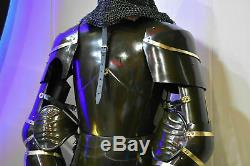 Complet Corps Armor 1.8m Suit Médiévale Knight Suit de 15th Siècle Combat Main