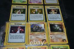 Complet Ensemble De Gym Heroes Tout #132/132 Pokemon Échange Cartes TCG Wotc