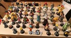 DRAGONBALL GT Collection complète de 61 Figurines et fascicules Atlas