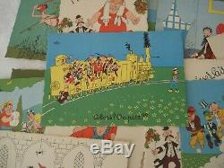DUBOUT. DUMOULIN -Série complète de 40 CARTES POSTALES numérotées 1957