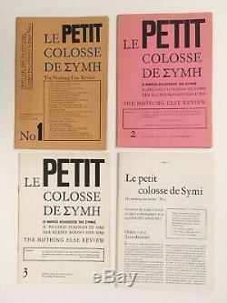 Daniel Spoerri Le petit colosse de Simi 4 numéros série complète