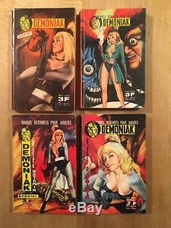 Demoniak Collection complète des 4 numéros hors série 1967/68 BE