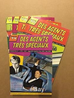 Des agents très spéciaux Collection Complète 1 à 5 Sagédition 1969/70