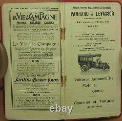 E189 1 Guide Michelin 1908 Pas De Carte Complet Format 10,5 X 19,5 CM