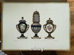 EDOUARD GARNIER la porcelaine tendre de sèvres Maison Quantin 1891 complet