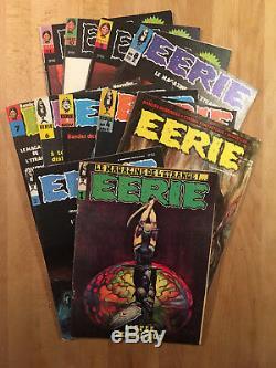 EERIE Collection complète des 11 numéros TBE
