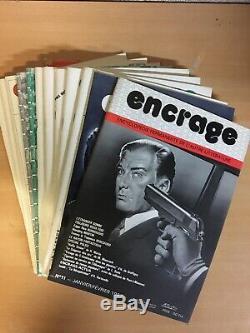 ENCRAGE Encyclopédie permanente de l'autre littérature Collection complète