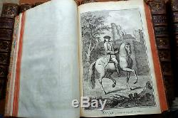 ENCYCLOPEDIE DIDEROT D'ALEMBERT collection complète des PLANCHES 11 t. In folio