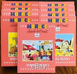 EO Horace cheval de l'ouest Collection complète en 9 volumes (Poirier) (Neuf)