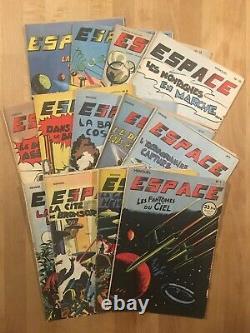 ESPACE Collection complète des 13 numéros 1953/54 -TBE