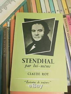 Ecrivains De Toujours Seuil Collection Complète Des 106 Volumes Tbe Rare++++
