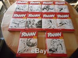 Eldoradodujeu Bd Lot Collection Complete Des 10 Tomes Rahan Soleil Neuf N&b