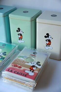 Euros Mickey France collection Complète Avec Boite Lot Neuf Monnaie De Paris