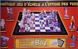 Exceptionnel Jeu D'echecs De Collection Asterix Neuf Complet