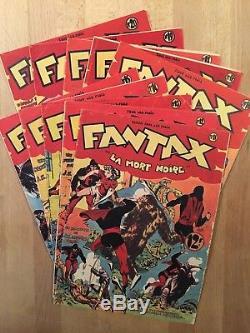 FANTAX Collection complète des 39 numéros 1946/49 BE