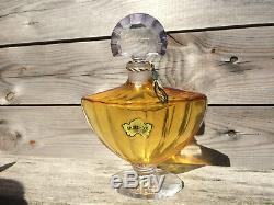 Flacon De Parfum Factice Baccarat Ancien Vintage An 70 complet